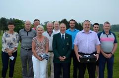 Magners & A B Motors NI Ltd Open Prize Winners