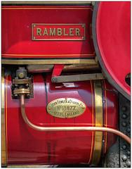 Rambler (bob the bolder) Tags: uk durham beamish museum roadroller steam rambler leeds 18877 johnfowler
