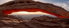 Mesa Arch (Ramona H) Tags: canylands canyonlandsnationalpark islandinthesky mesaarch thewasherwoman utah reflectedlight sunrise