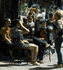 Parisian Street Life Impressions (Professor Bop) Tags: professorbop drjazz olympusem1 montmartre parisfrance street impressionism mosca
