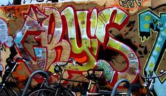 graffiti in Amsterdam (wojofoto) Tags: amsterdam nederland netherland holland graffiti streetart wojofoto wolfgangjosten cry crysim