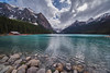Lake Louise, Alberta (trilou) Tags: lakelouise alberta canada landscape travel rockymountains clearlake waterscape travelphotography visitcanada pentaxk1 irix11mm