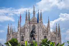 Duomo di Milano (Rainfire Photography) Tags: church cathedral perspective duomo milan nikon
