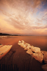 Hourtin port (Luw G) Tags: hourtin port gironde lacanau lac lake sunset