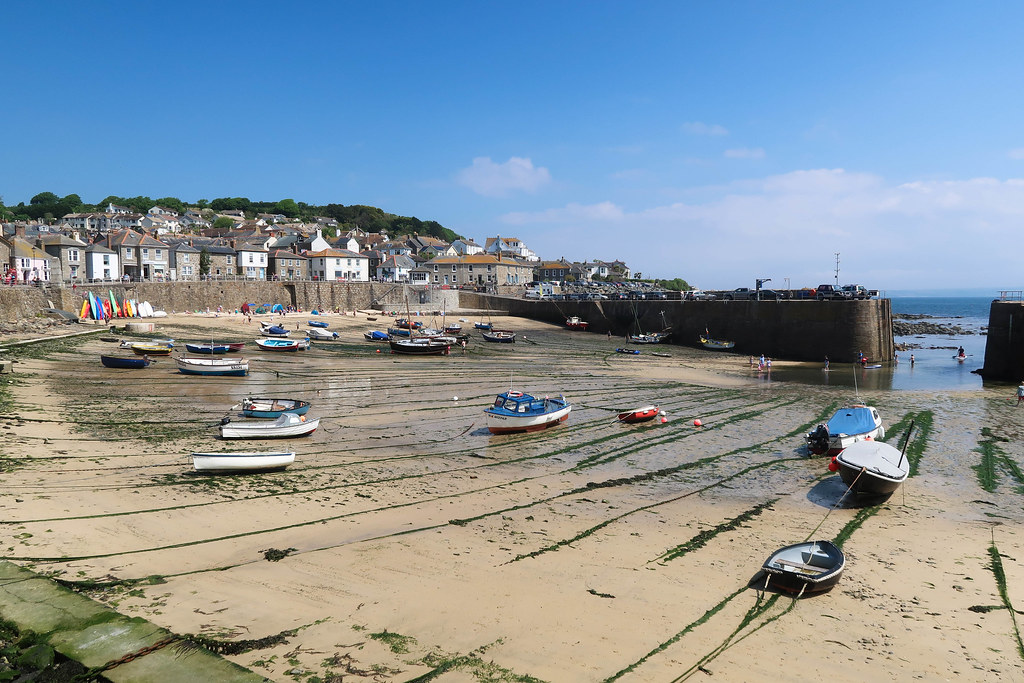 Mousehole Harbour - Penzance - Cornwall