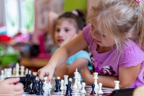 VIII Turniej Szachowy o Mistrzostwo Przedszkola Europejska Akademia Dziecka-28