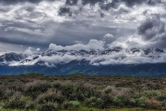 Drama in the Sky - The Grand Tetons (Wambo Jambo) Tags: bruceikenberryphotography d750 grandtetonnationalpark grandtetons landscape wyoming landscapephotography mountain mountains clouds