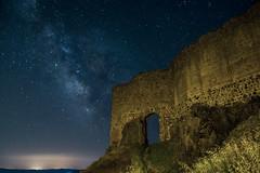 DSC_3753 (Jesus DTT) Tags: piedrabuena castillo miraflores nocturna lightpainting castle víaláctea milkiway