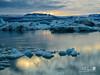 Iceland - 54 (Mukis_trip) Tags: nature natura iceland islandia paisaje landscape naturaleza isla island lago lake glacier glacial iceberg hielo ice sunset atardecer