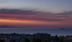 Early Arrival (eskippyskip) Tags: dawn sunrise sea mediterranean colour sky weather