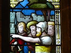 Church - St Mary, Kirkby Lonsdale 180405 [Atkinson Memorial Window c] (maljoe) Tags: church churches stmarys kirkbylonsdale stmaryskirkbylonsdale stmaryschurchkirkbylonsdale stainedglass stainedglasswindow stainedglasswindows