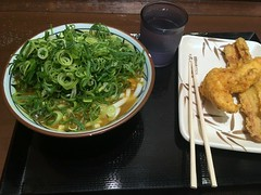 Curry udon from Marugame Seimen @ Roppongi (Fuyuhiko) Tags: curry udon from marugame seimen roppongi カレー うどん 六本木 丸亀製麺 東京 tokyo