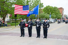 Two Rivers Police Honor Guard (Lester Public Library) Tags: memorialday memorialdayparade memorial parade military militaryparade ceremony tworiverswisconsin tworivers wisconsin veterans veteransofforeignwars lesterpubliclibrarytworiverswisconsin wisconsinlibraries readdiscoverconnectenrich warmemorial police tworiverspolicedepartment honorguard