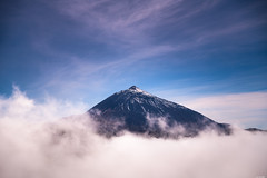 Breakthrough (Rico the noob) Tags: dof d850 landscape nature outlook mountains outdoor 2470mmf28 clouds travel 2018 sky tenerife published teneriffa 2470mm snow mountain