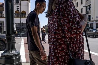 couple on a corner