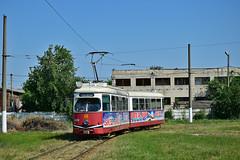SGP Type E1 #4638 Braicar_S.A. Brăila (3x105Na) Tags: sgp type e1 4638 braicarsa brăila strassenbahn strasenbahn tram tramwaj rumunia rumänien