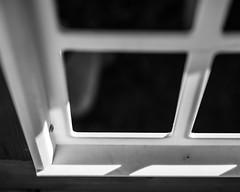 IMGP2062 (agianelo) Tags: playhouse window frame plastic monochrome bw blackandwhite