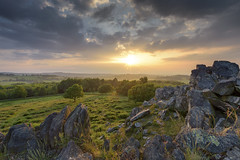 Setting Sun, Beacon Hill (John__Hull) Tags: beacon hill leicestershire charnwood forest wood trees sun light view uk england countryside breath taking landscapes nikon d7200 sigma 1020mm clouds