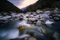 Downstream (_Amritash_) Tags: downstream longexposure river rocks boulders landscape mountains uttarakhand india travel travelindia trek supin