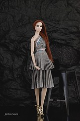One dress, two different way to wear. (Jordan Stn) Tags: twins blair lilith integritytoys fashionphotography collection dolls fashiondoll fashionroyalty