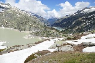 Grimsel Pass Swiss Alps Switzerland
