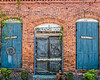 His and Hers (augphoto) Tags: augphotoimagery abandoned architecture brick building decay exterior old sign signage structure texture wall weathered sharon georgia unitedstates
