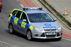 Police Scotland Ford Focus Estate Incident Response Vehicle (PFB-999) Tags: police scotland ps vauxhall astra estate incident response vehicle car unit irv panda lightbar grilles leds sf14nnx edinburgh