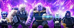 LEGO Avengers: Infinity War - No Resurrections This Time (MGF Customs/Reviews) Tags: lego avengers infinity war thanos gauntlet black order custom figure minifigures