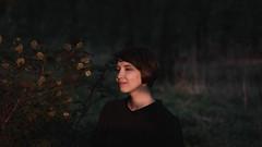 *** (zeldabylinovitch) Tags: girl outdoorportrait portrait twilight sunset mood manuallens