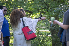 DSC_2243 (photographer695) Tags: wintrade rest recreation hyde park london feeding parakeet birds with nicole ross