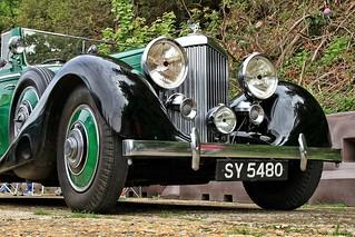 1935 Bentley 3.5 Litre Drophead Coupe SY 5480