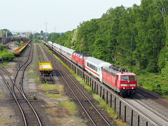 DB 181 215 (jvr440) Tags: trein train spoorwegen railroad railways duisburg entenfang br181 pbz