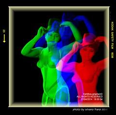 GLAMOUR (E se fosse Glamour alla Andy Warhol ?) (Artista Franzi) Tags: studio lingerie womens girl beautiful model mamiya shooting mediumformat mamiyam6451000s analog