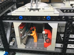 SHIP WIP - Machine Shop module (DeeGiiThree) Tags: ship space lego spaceship machine shop tools scala scifi wip project log