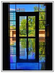 e n t r a n c e (NadzNidzPhotography) Tags: nadznidzphotography ctt crazytuesdaytheme uprightformat door reflection reflected reflect