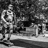 Bristol Street (paulchapmanphotos) Tags: bristol street leica m240 summilux 21mm batman pigeons skateboard black white overprocessed harbourside