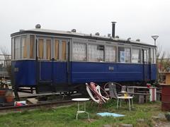 Amsterdam: Former GVB Carriage 816 (harry_nl) Tags: netherlands nederland 2018 amsterdam ndsm terrein former gvb tram carriage 816 trammeland