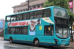 Arriva 4481 (anthonymurphy5) Tags: arriva4481 arriva 4481 cx61cde vdldb300 wrightpulsargeminiii liverpoolcitycentre 020618 travel transport busphotography buspictures busspotting bus