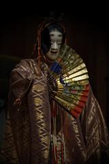 Kakitsubata - 杜若 (小川 Ogawasan) Tags: japan japon noh theater performance kimono stage live traditional art pine kata 仕舞 舞囃子 能 nô dance drama theatre unesco nohstage