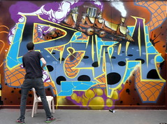 BIG#9 juin 2018 Lille-010 (CZNT Photos) Tags: alaincouzinet artmural big cznt epsilone flow graff hiphop lille lillemoulins murspeints rendezvoushiphop saintsauveur streetart