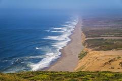 Endless Beach (World-viewer) Tags: dunes sand landmark ilce6000 a6000 ngc sony nice outdoor vista perspective horizon marine sea ocean pacific coast coastline shore shoreline beach reyes pt pointreyes california travel landscape