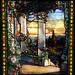 Hinds House window - Louis Comfort Tiffany