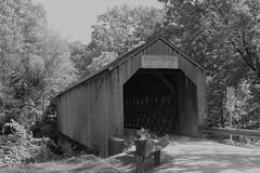 Kingsley Covered Bridge (pegase1972) Tags: blackandwhite bw us usa vt bridge pont vermont coveredbridge licensed exclusive getty