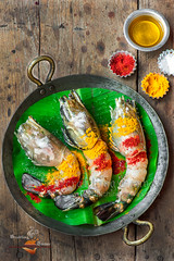 Golda Chingri | Giant River Prawn (Rimli D) Tags: raw rawfish eatingraw ingredients ingredientshot foodinprogress workinprogress foodstyling foodblog foodphotography foodblogger foodpicture foodporn food fish fishcurry nikkor nikon indianfood bengalifood bangladeshifood bengalicurry festivalfood darkphotography moodphotography moodyshot dark traditional traditionalstyling prawncurry prawn scampi golda