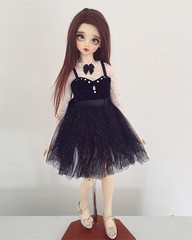 I love this dress <3 (ArcticFawn) Tags: abjd bjd volks balljointed ball jointed doll sd sd13 fcs girl f05 old f08 kaleidoll alpaca faceup meow house