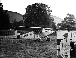 The Airplane and the Son at Castle Grace