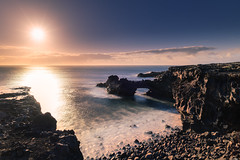 The arc (Rico the noob) Tags: 2018 rock d850 landscape sunset nature water outdoor stones clouds longexposure ocean rocks tenerife sun dof sky sea teneriffa 20mmf18 20mm published
