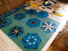 P2070427 (MizGingerSnaps) Tags: 1bw 2018 february virginia waterspouts williamsburg babyquilts hexagons inprocess kaleidoscope kidstuff oneblockwonder piecing projects quilting recycling salvage scrapquilts whales winter usa