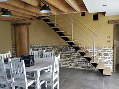 MESLIN BÂTIMENT (MeslinBatiment) Tags: escalier meslinbatiment escaliersurmesure limonmétal escaliermanche manche saintlô caen calvados marigny coutances saintjeandelle saintjeandesbaisants periers carentan bayeux