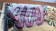 Cee Pil & K.Shit / Dok Noord - 17 mei 2018 (Ferdinand 'Ferre' Feys) Tags: gent ghent gand belgium belgique belgië streetart artdelarue graffitiart graffiti graff urbanart urbanarte arteurbano ferdinandfeys ceepil kshit kreashit